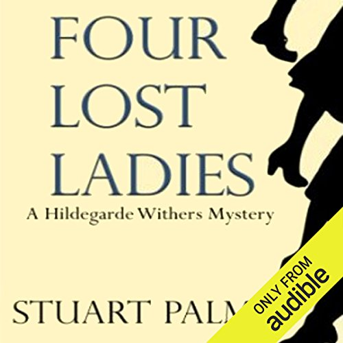 Four Lost Ladies audiobook cover art