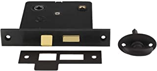 B&M Hardware 8919-OB Reproduction Privacy Mortise Lock with Thumbturn - 2 1/2