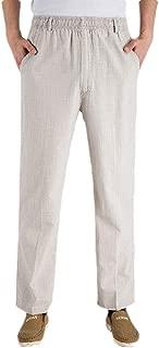 Mogogo Men's Big & Tall Thin Relaxed Premium Long Pants Joggers Pants