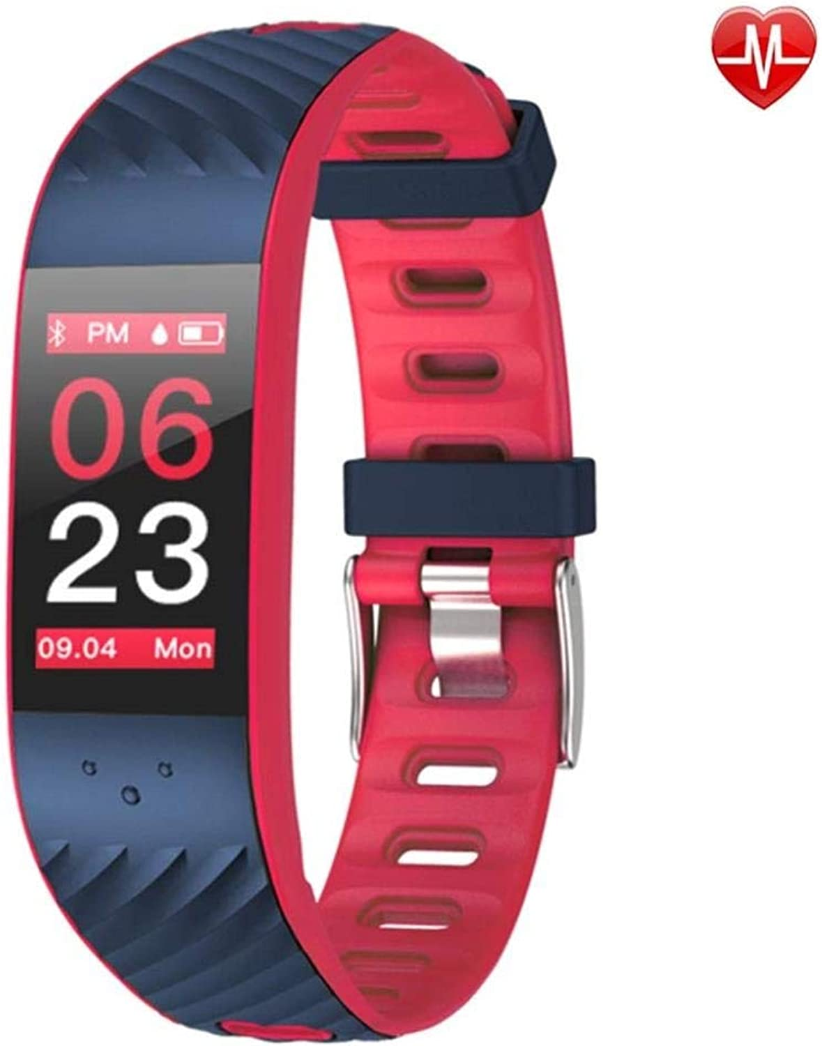 Fitness Tracker Activity Monitor Pedometer Heart Rate Blood Pressure Monitoring MultiSports Function blueeetooth Smart Bracelet