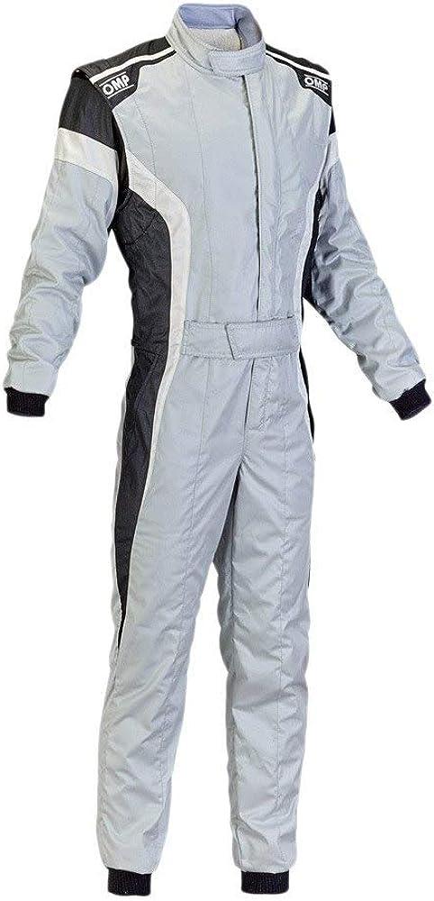 OMP Men's Tecnica-S Suit Grey White Black 50 excellence Austin Mall Size
