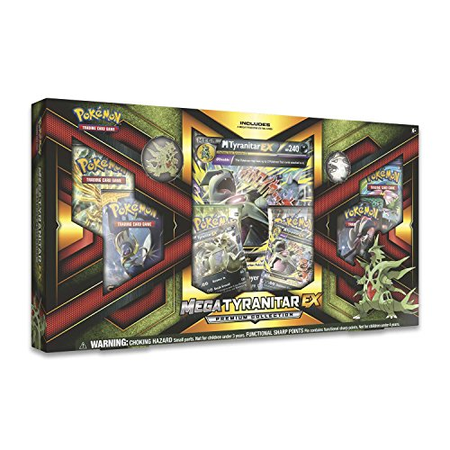 PoKéMoN 290-80296 Mega Tyranitar-EX-Premium Collection-Englisch