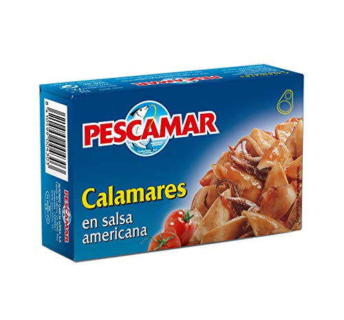 Pescamar Calamares En Salsa Americana En Lata - 111 g