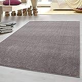 HomebyHome tappeto moderno a pelo corto, economico, tinta unita...
