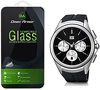 Dmax Armor for LG Urbane 2nd Edition LTE Glass Screen Protector, [Tempered Glass] 0.3mm 9H Hardness, Anti-Scratch, Anti-Fingerprint, Bubble Free, Ultra-Clear