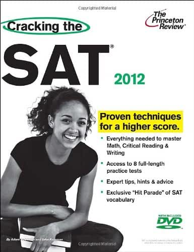 Cracking the SAT with DVD, 2012 Edition