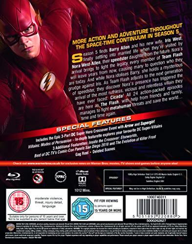 The Flash: Season 5 [Blu-ray] [2018] [2019]