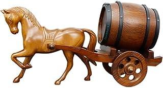 yunyu Tonneaux de vin décoratifs, tonneaux de vin de chêne de Whisky, vieillissement, Artisanat sculpté à la Main, seaux d...
