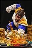 Dragon Ball Figuras De Acción Escena De Dragon Ball: Gran Simio VS Goku Figuras De Anime Estatua Figurilla Modelo Muñeca Colección Regalos De Cumpleaños PVC - 15,7 Pulgadas