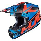 CX2MUS - HJC CS-MX II Madax Motocross Helmet S Black Blue (MC26SF)