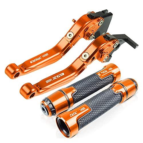 para Su-zuki GSX1400 2001-2007 GSX 1400, Accesorios De Motocicleta, Empuñaduras De Aluminio CNC, Palanca De Embrague De Freno De Extremo De Barra De Mano Motocicleta (Color : 4)
