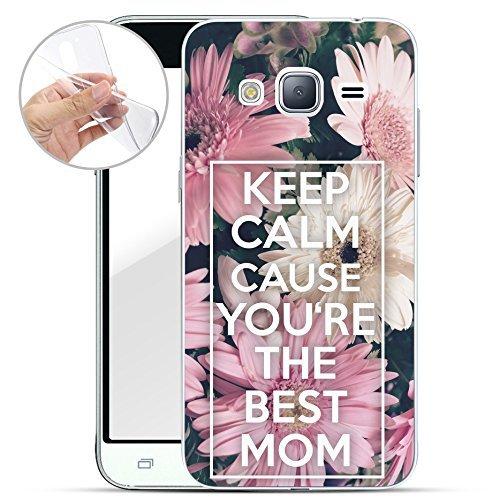 Finoo motivo SERIE 4 SILICONE SAMSUNG GALAXY J3/J5 2016 - keep calm best mom, Samsung Galaxy J3 (2016)