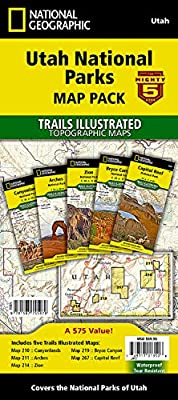 Utah National Parks [Map Pack Bundle] (National Geographic Trails Illustrated Map) by National Geographic Maps