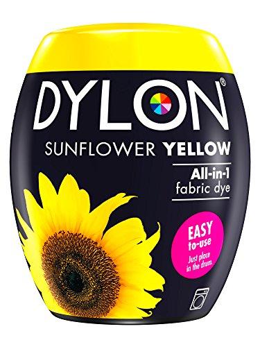 Dylon Dye Pods Textilfärbemittel für die Waschmaschine, 350 g, Sonnenblumengelb