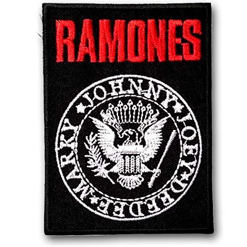 Verani Ramones Punk Rock Band Patch Embroidered Iron on Badge Emblem SQ