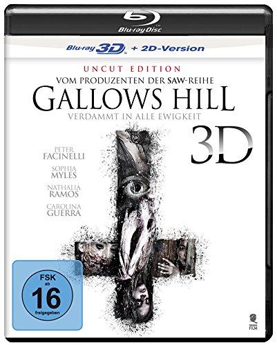 Gallows Hill - Verdammt in alle Ewigkeit (Uncut) [3D Blu-ray + 2D Version]