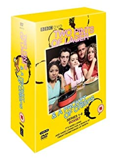 Two Pints Of Lager & A Packet Of Crisps - Series 1-6 Boxset