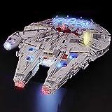 BRIKSMAX Kit de Iluminación Led para Lego Millennium Falcon, Compatible con Ladrillos de Construcción Lego Modelo...