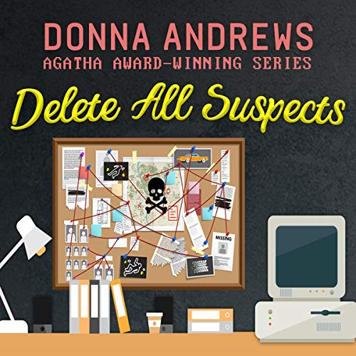 Delete All Suspects audiobook cover art
