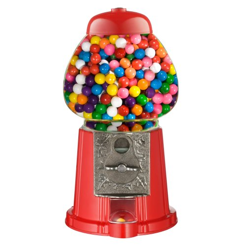 """6265 Great Northern 15"""" Old Fashioned Vintage Candy Gumball Machine Bank - Everyone Loves Gumballs!"""