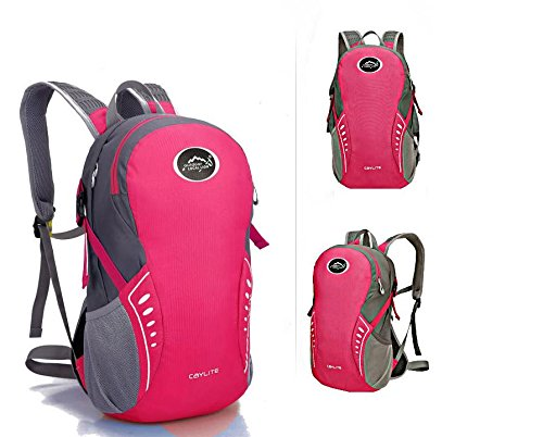 Extérieur élégant portable sac à dos sac à dos sac à dos de vélo , pink