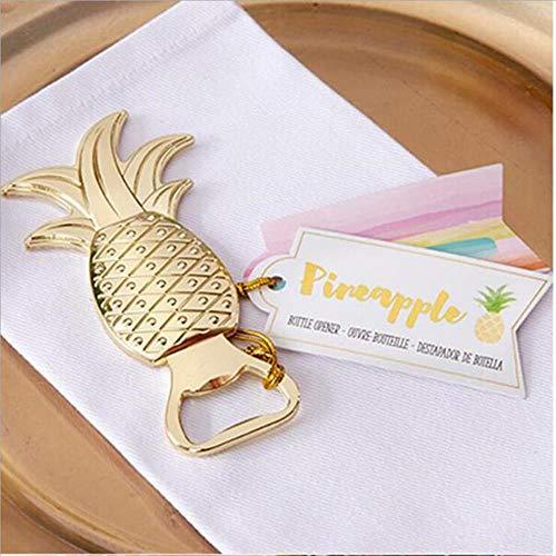 DACCU metalen flamingo ananas flesopener bier flesopener creatieve sleutelhanger bier-wijn-opener huwelijksreceptie keuken bar gereedschap, ananas