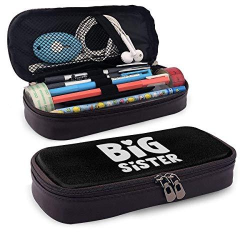 Big Sister Large Capacity Stationery Bag Basic Pencil Cases