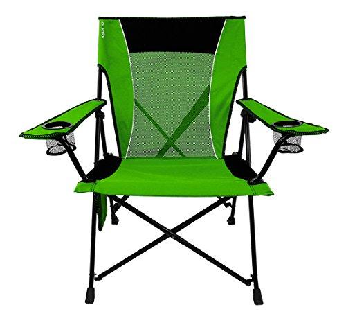 Kijaro Dual Lock Portable Camping and Sports Chair, Ireland Green