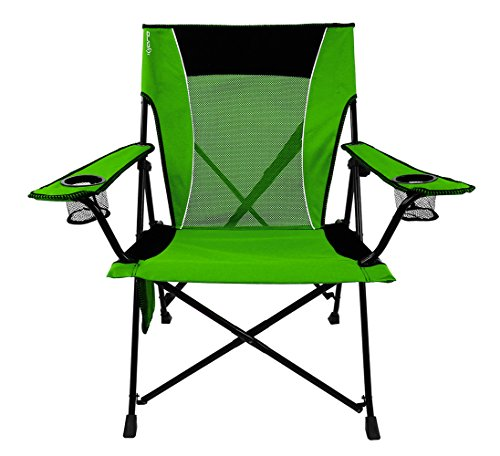 Kijaro Dual Lock Portable Camping and Sports Chair, Ireland Green