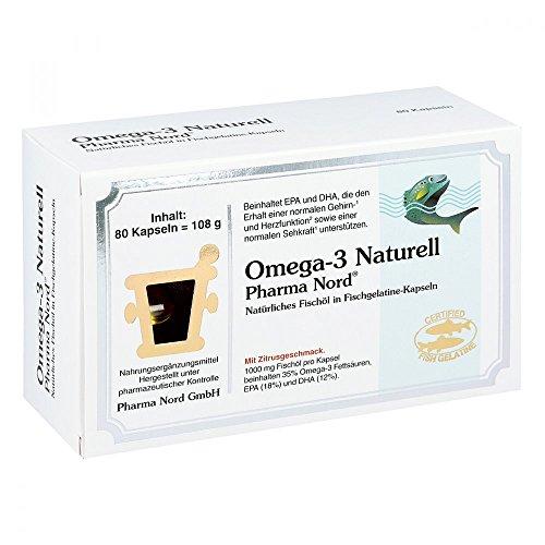 Preisvergleich Produktbild Omega 3 Naturell Pharma N 80 stk