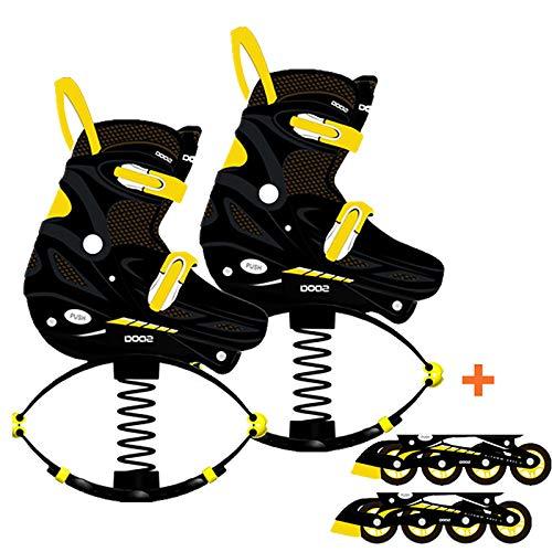 WWSZ Zapatos de Rebote de Fitness,Retrocesos De Antigravedad Ejecución De Botas,Jumps Rebound Shoes,Zapatos De Rebote Canguro Jumps,Kangoo Salta Botas para Correr