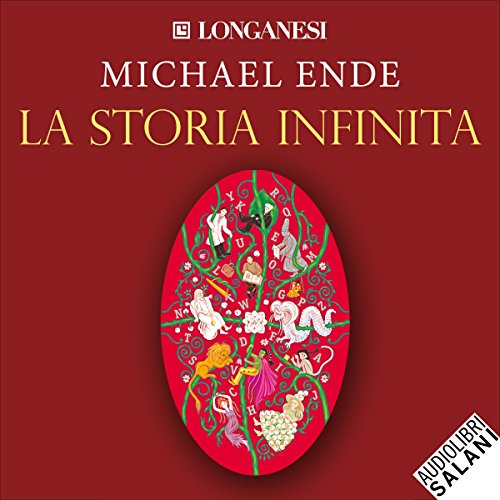 La storia infinita audiobook cover art