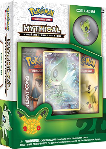 Pokemon Mythical Pokemon Collection - Celebi Trading Card Game