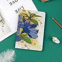 印刷者IPad Pro 11 ケースiPad Pro 11 カバー 軽量 薄型 PUレザー 三つ折スタンド オートスリープ機能 2018年秋発売のiPad Pro 11インチ専用ハイビスカスはエキゾチックな葉の有機性花束の水彩画を華やかに