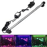 GreenSun LED Lighting 5.8W Submersible LED Aquarium Light, 12V 27 LEDs 5050SMD Underwater Strip Light for Fish Tank,...
