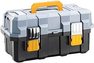 Grote multifunctionele gereedschapskist, 3-laags, 50,8 cm (20 inch), met kunststof gereedschap-organizer, draagbare opberg...