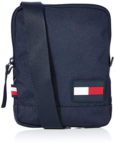 Tommy Hilfiger Herren Tommy Core Compact Crossover Business Tasche, Blau (Sky Captain), 17x13x2cm