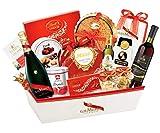 Luxuriöser Weihnachtsgeschenkkorb Champagner Mumm - Luxuriöse und elegante Weihnachtskörbe - Cod.123