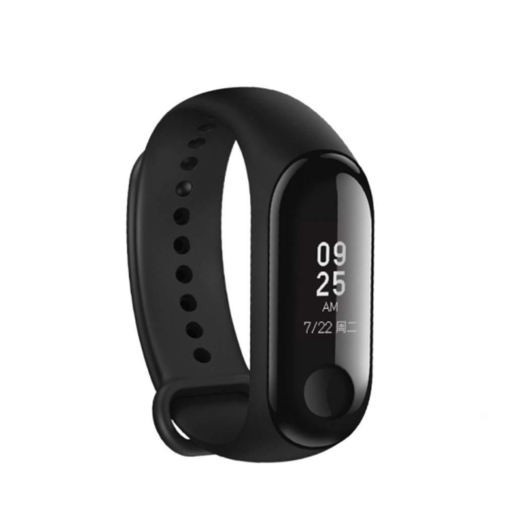 Xiaomi Mi Band 3 Smart Pulsera Fitness Tracker Pulsómetro sofortnachr vacío recibas Alarma Resistente al Agua 5 ATM OLED Pantalla táctil Previsión meteorológica 3: Amazon.es: Deportes y aire libre