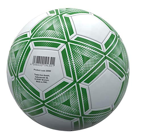 Trade Con Fussball, Gr. 3, Farbe: weiß/grün