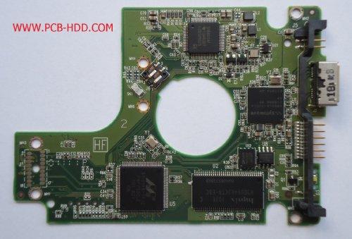 Western Digital WD5000BMVW-11AMCS0 PCB 2060-771737-000 REV A