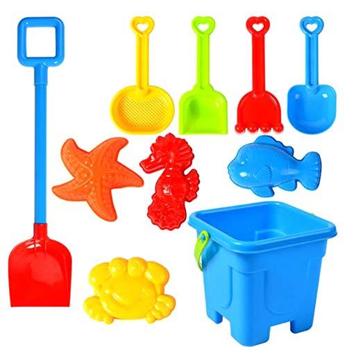 Btruely Sandspielzeug Junge Set, Strandspielzeug Kinder, Strand Spielzeug Sand Set, Sandkasten-Eimer - Formen, Harke, Spaten, ummer Outdoor-Spielzeug Spielzeuglastwagen,Sandkasten-spielzeug