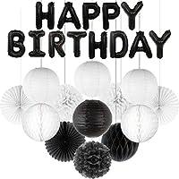 デコレーションパーティー 26個/ロット中国の提灯ハニカムボールティッシュポンポン混合箔文字風船子供大人の誕生日パーティーの装飾