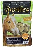 Monties Pferdeleckerlis, Maiskeimherzen, Gebacken, Größe ca. 4,5 cm Durchmesser, Genießer-Kekse, 500 g