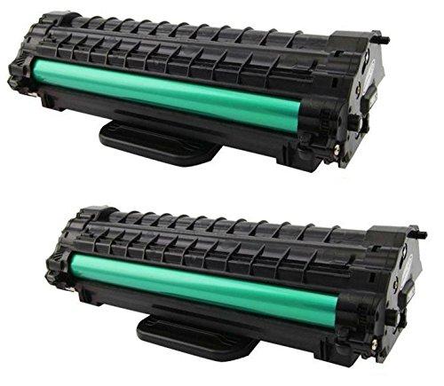 Prestige Cartridge ML-1610D2 Kit 2 Toner compatibili per Samsung ML-1610, ML-1615, ML-1650, ML-2010, ML-2015, ML-2510, ML-2570, ML-2571, SCX-4321, SCX-4321F, SCX-4521, SCX-4521F, Dell 1100
