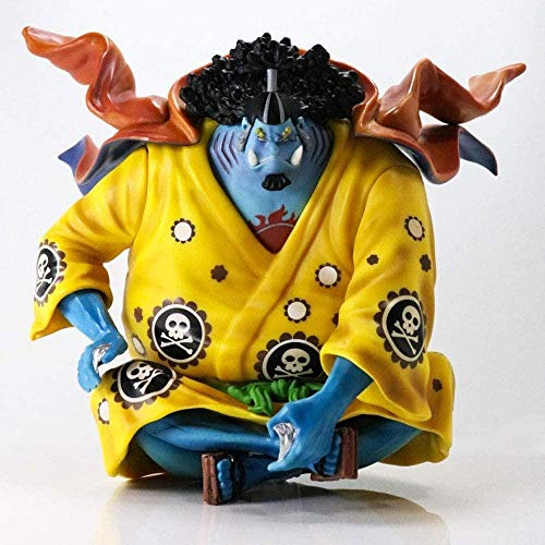 Gddg One Piece/One Piece Siete Wuhai Pop Haixia Jinping Personaje de acción Boxed Anime Carácter Modelo Adulto Juguete PVC Estatua Doll Anime Fan Colección Decoración del Hogar Regalo de Año Nuevo