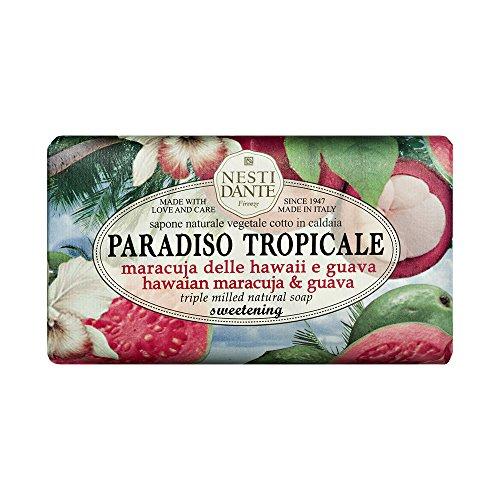 Nesti Dante Seife Paradiso - Haiiwan Maracuja & Guave 250 g, 1er Pack (1 x 250 g)