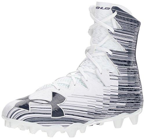 Under Armour Men's Highlight M.C. Lacrosse Shoe White