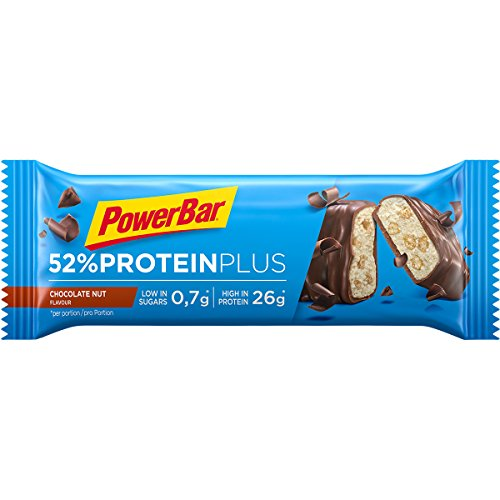 Powerbar – Protein Plus Bar 52% (2018) 1 X 50 G barretta Chocolate Nut (confezione da 6)