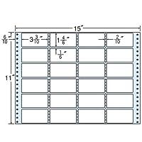 東洋印刷 タックフォームラベル 15インチ ×11インチ 24面付(1ケース500折) MH15X